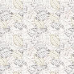 Decorative ornamental seamless soft brown beige pattern.