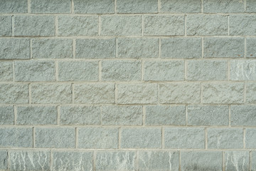 Wall texture made of smooth bricks