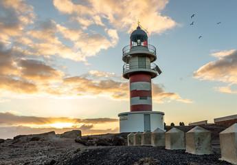 Arinaga cost lighthouse Gran Canaria Spain