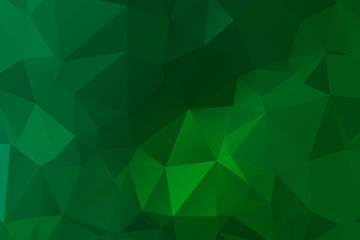 Abstract multicolor emerald green background. Vector polygonal design illustrator