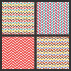 retro seamless pattern, abstract geometric vector background