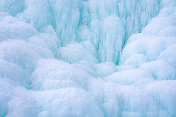 Ice cliff in Lake Baikal, Russia, landscape photography