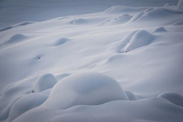 vintage snowdrifts background, new year's landscape