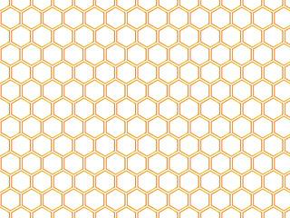 Repeating hexagon vector pattern