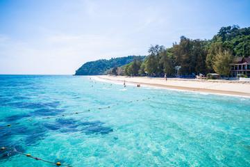 Mai Ton island private beach at Phuket