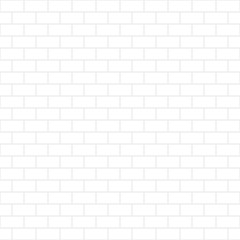 White background. Abstract geometric seamless pattern line brick design. Vector illustration. eps 10