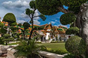 Phra Borom Maha Ratcha Wang Bangkok, thailande