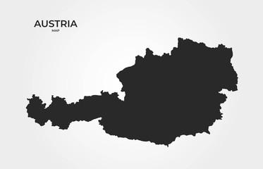 Austria map icon