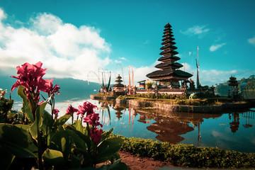 Pura Ulun Danu Bratan Hindu Temple in Bali, Indonesia