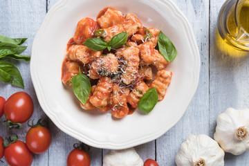 Gnocchi di patata in tomato sauce