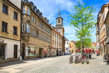 The Bayreuth town