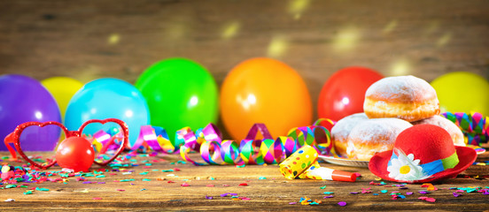 Colorful party, carnival or birthday background