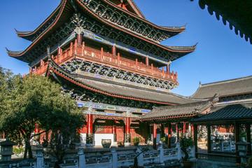 mu fu in lijiang,china
