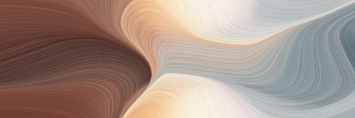 moving header with silver, old mauve and pastel gray colors. dynamic curved lines with fluid flowing waves and curves