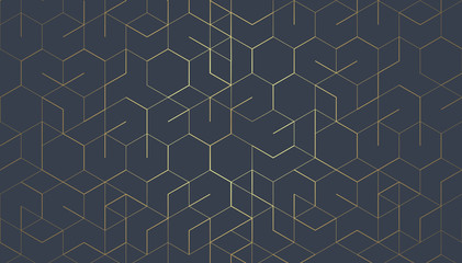 Abstract geometric lines. Connection and social network. Minimalistic Design.