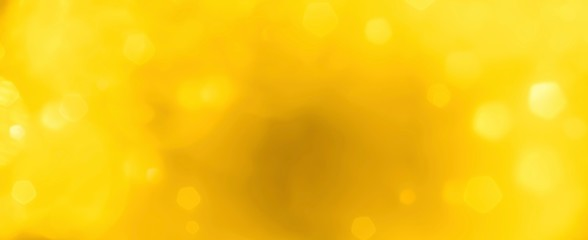 abstract yellow background with bokeh lights - concept summer sun, easter, creative ,idea