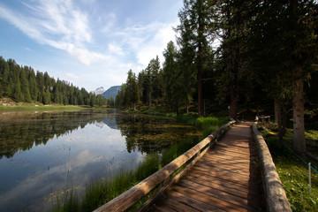 Hike at Lago Antorno