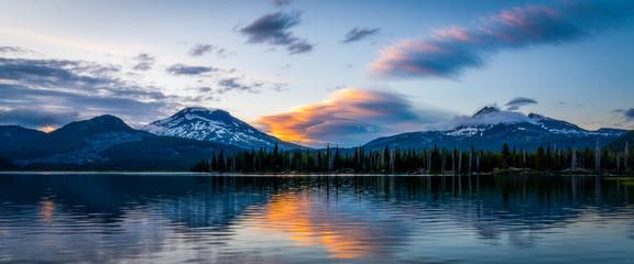Colorful Mountain Sunset - Oregon