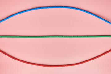 Braided nylon ropes