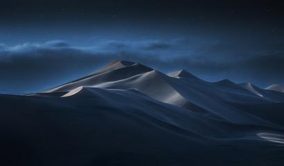 Dune 7 Namibia at night