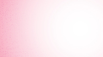 Soft Pink Microchip on Technology Background,hi Tech and security Concept design,Free Space For text in put,Vector illustration.