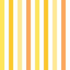 Yellow and orange stripes seamless pattern