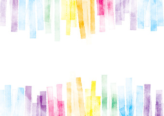 水彩 テクスチャ 背景 虹色