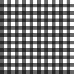 Black gigham pattern vector seamless square design background. Abstract tablecloth black for wallpaper. Abstract grid.