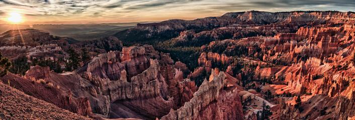 fantastic bryce canyon at sunrise