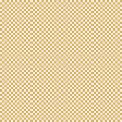 Square sand yellow mesh seamless pattern. Vector background.