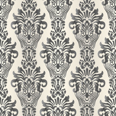 Seamless oriental pattern. Vector vintage floral seamless pattern element. Damask wallpaper.