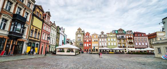Central Market Square in Poznan, Poland