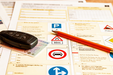 Fragebogen Führerschein Fahrschule