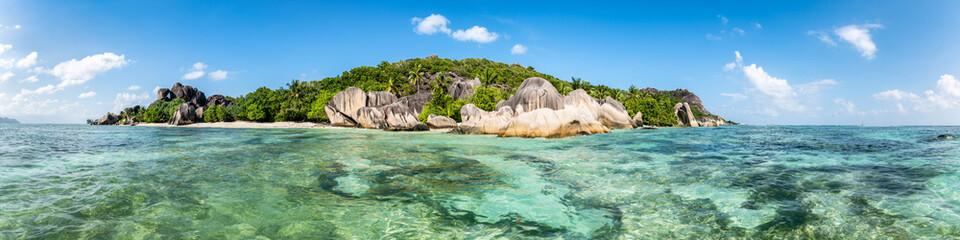 Tropical island in the Seychelles