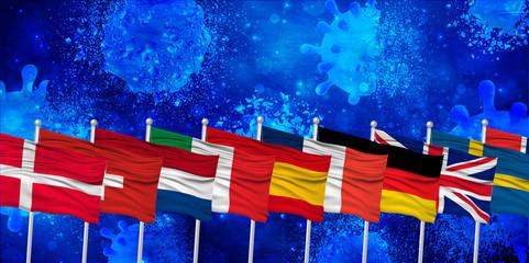 ヨーロッパ コロナ ウイルス 背景