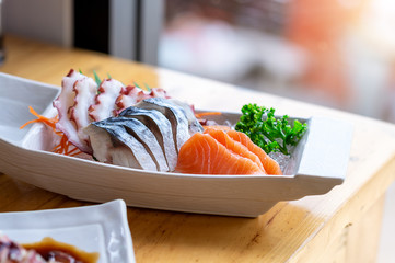 fresh sashimi combo
