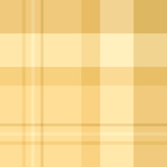 Seamless pattern in great discreet beige colors for plaid, fabric, textile, clothes, tablecloth and other things. Vector image.