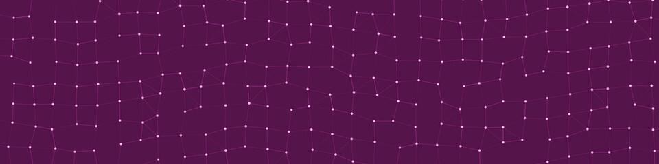 Network Mesh Procedural Art background illustration