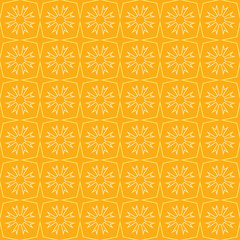 Vector seamless pattern, yellow wallpaper background texture in modern style.