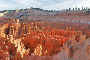 Bryce Canyon National Park located in southwestern Utah.