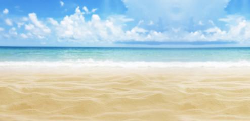 Sand, sea, sky and beach background