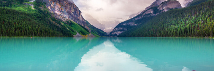 Lake Louise in Banff National Park, Alberta, Rocky Mountains, Canada