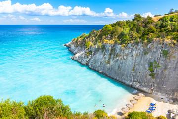 Beautiful view of Xigia Beach - Zakynthos Island - Greece