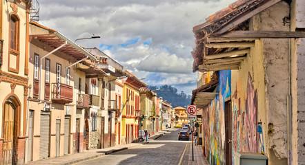 Cuenca historical landmarks, Ecuador