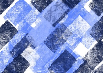 pattern with blue and white rectangles