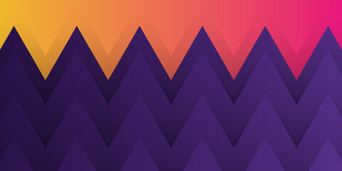 Colorful Zigzag Background Design. Vector illustration design for presentation, banner, cover, web, flyer, card, poster, wallpaper, texture, slide, magazine, and powerpoint.