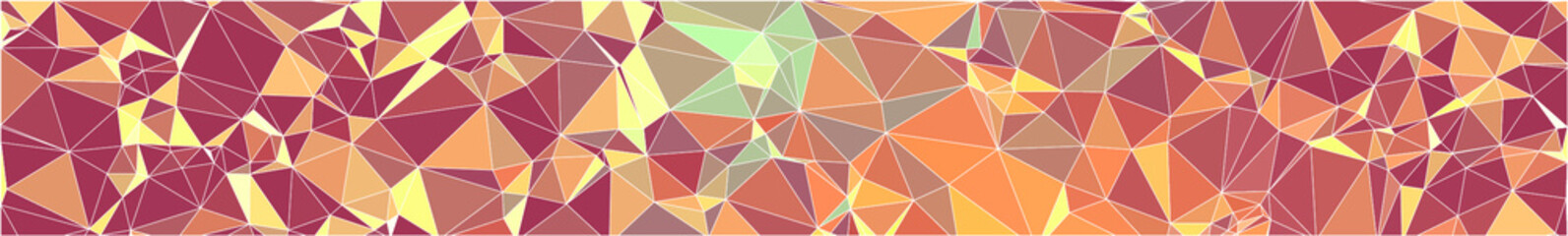 abstract geometric triangle shaped colorful vector background as pattern, texture, wallpaper or banner