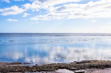 sea and sky, Saint-Leu, Reunion island