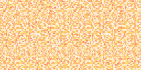 Colorful tiled pattern from triangles. Seamless geometric wallpaper of the surface. Mosaic background