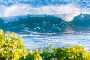 Wave, Grand'Anse, Reunion island